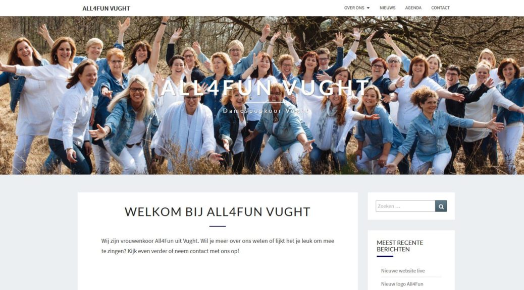 Nieuwe website All4Fun
